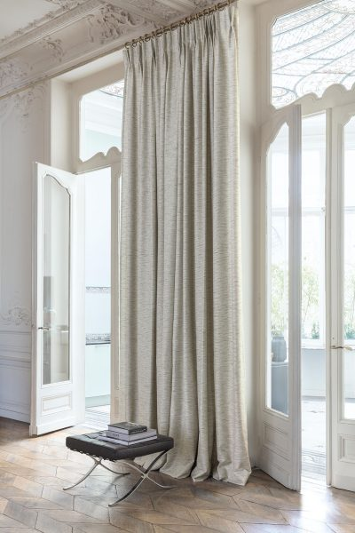 The Venus collection features a generous slub like texture in contrasting colours running through the weave. The 32 colours range from earthy neutrals to cool greys and highlights of bright and bold colours, creating a modern yet sophisticated palette. With high performance properties such as its polyester composition and tested for AS1530 pt 3, this drapery fabric is practical and durable and will perform exceptionally in both the domestic and commercial environments.